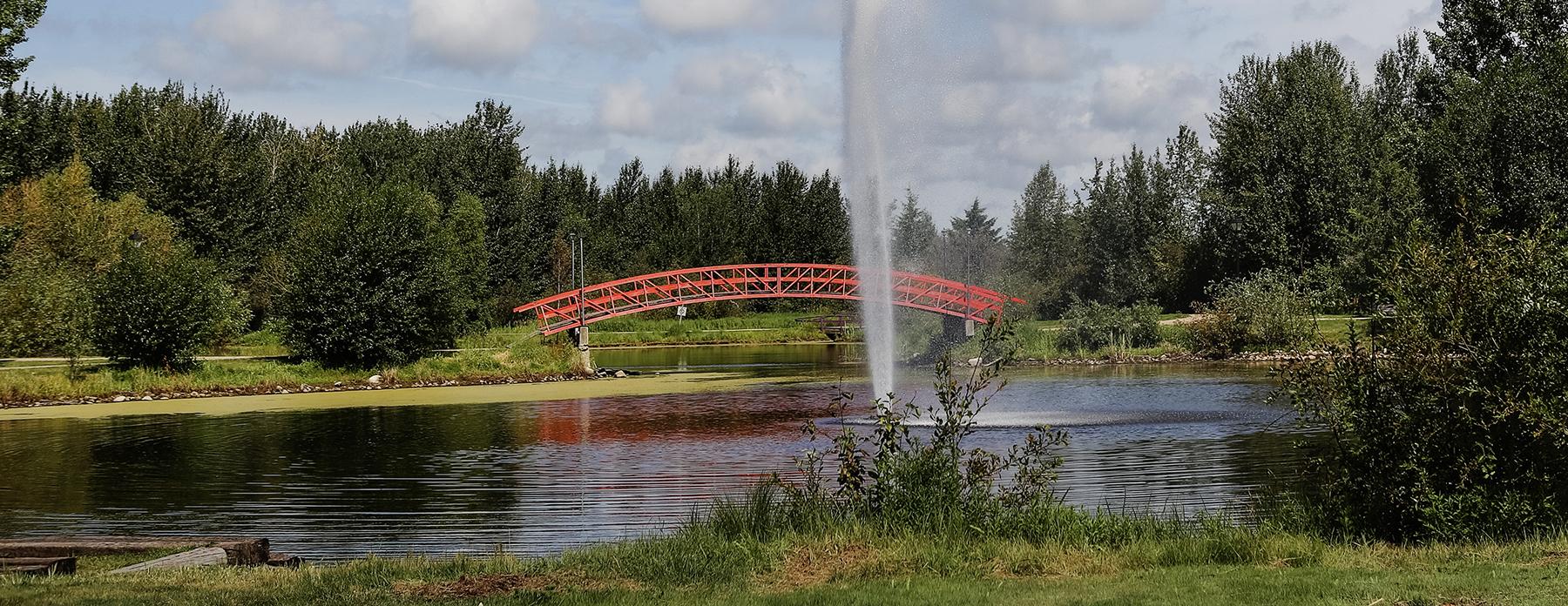 Rotary Park bridge