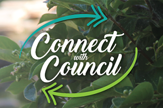 connect with council logo